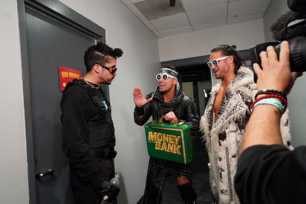 Bad Bunny en Royal Rumble