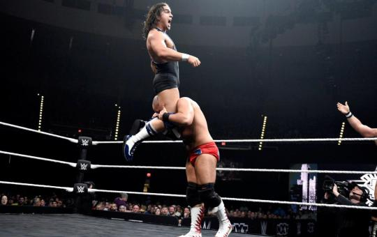 Harwood y Gable en WWE