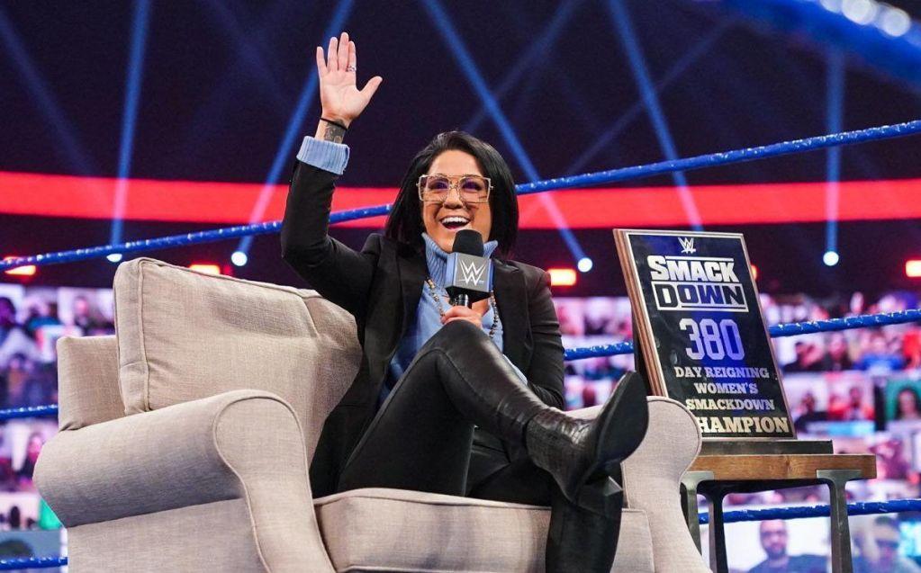 Bayley en SmackDown