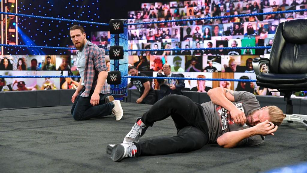 Daniel Bryan tras atacar a Edge