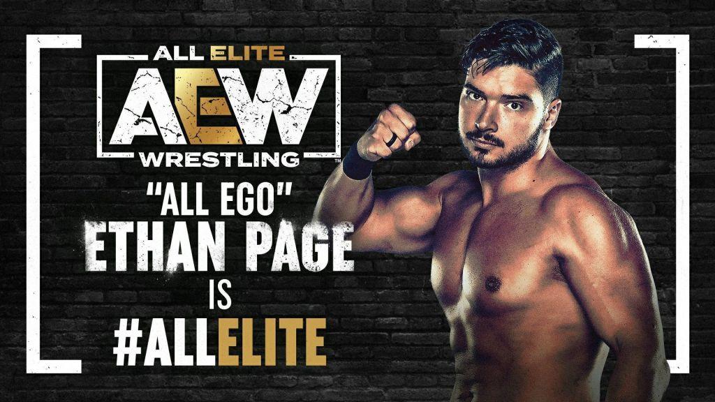 Ethan Page en AEW