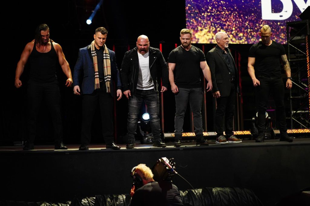 FTR, Wardlow, Shawn Spears, Tully Blanchard y MJF forman el nuevo stable de AEW.