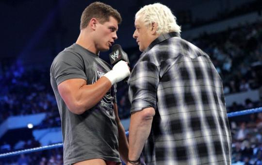 Cody Rhodes y Dusty en WWE