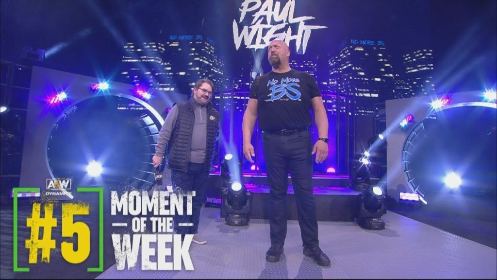 Paul Wight en AEW