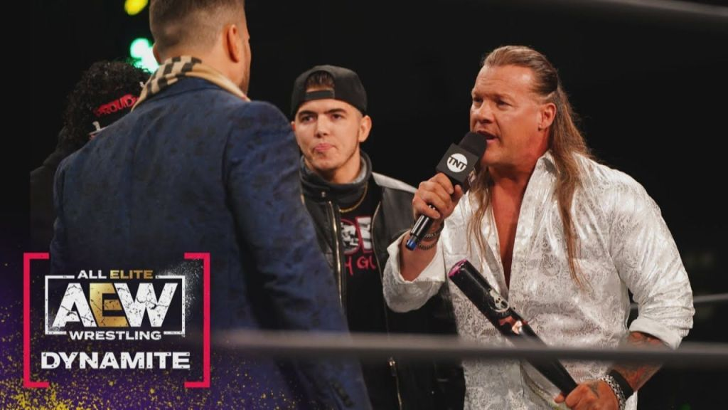 Jericho y MJF en AEW Dynamite
