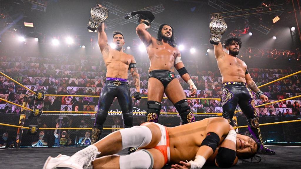 Legado del Fantasma en NXT