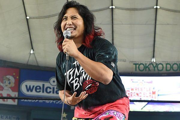 Hiromu Takahashi en NJPW