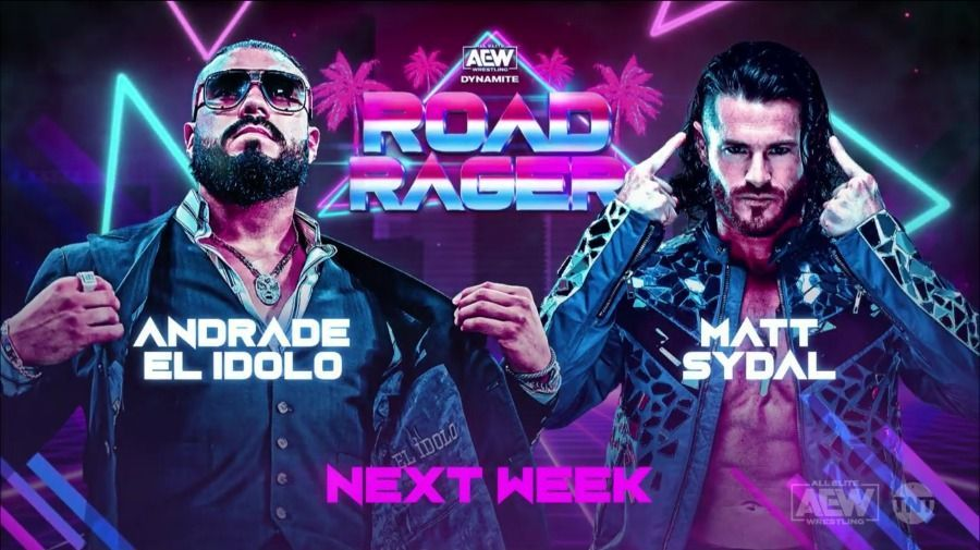 Andrade debutará en AEW enfrentando a Matt Sydal