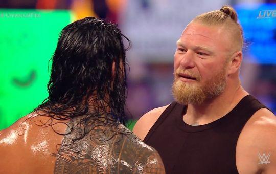 Roman y Lesnar