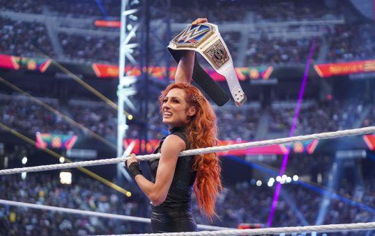 Becky Lynch en SummerSlam