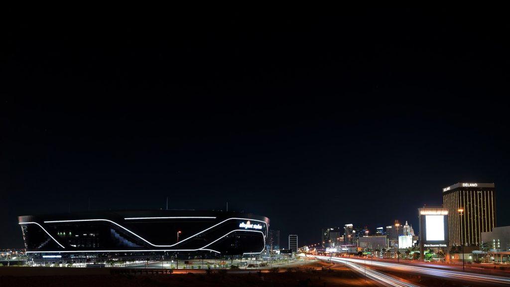 allegiant-stadium-night