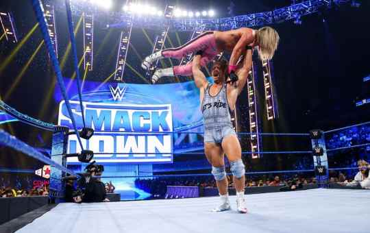 Rick Boogs en SmackDown