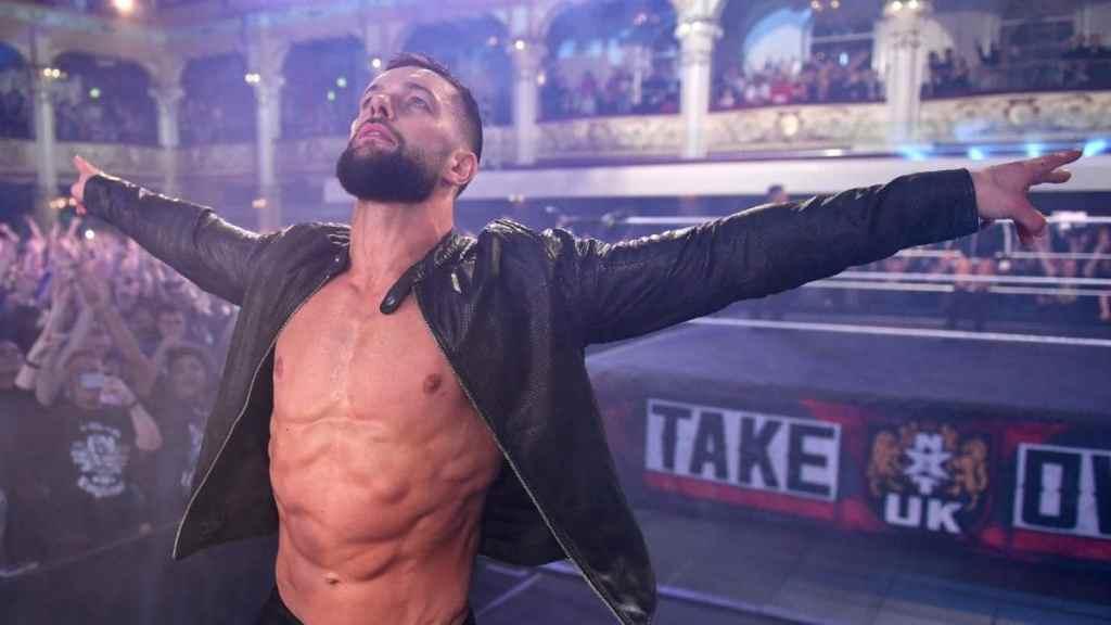 Finn Bálor en NXT UK