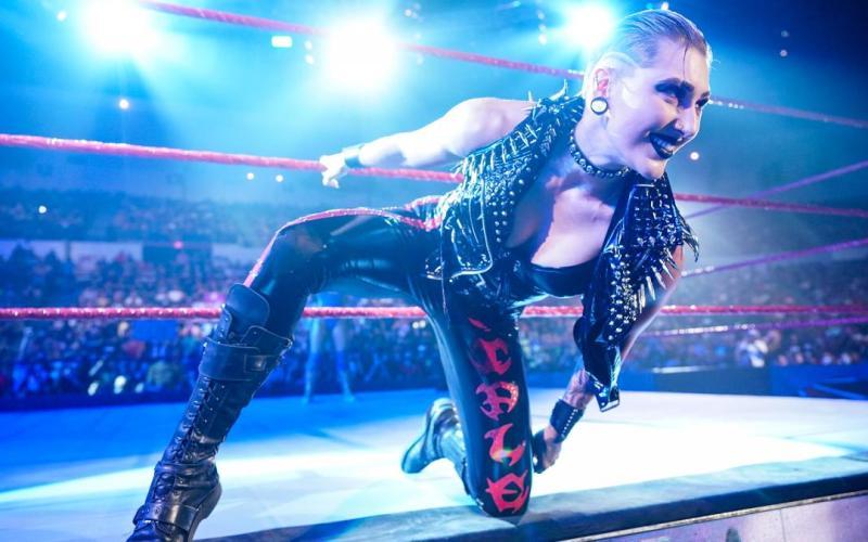 Rhea Ripley en WWE