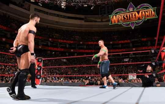 Finn Bálor vs John Cena