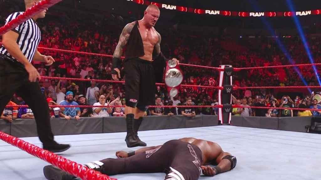 Randy Orton y Lashley