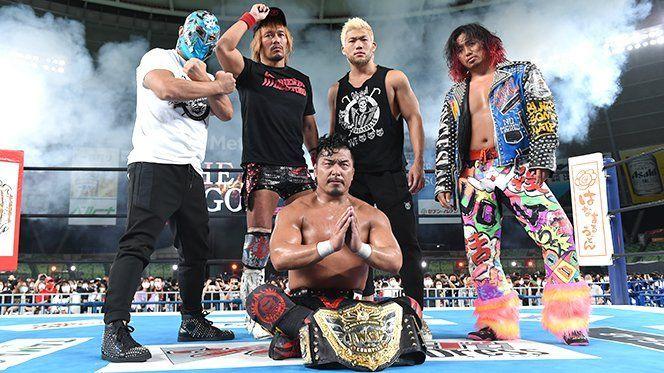 Shingo Takagi en NJPW