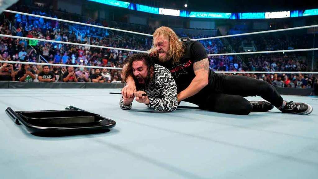Edge y Rollins SmackDown
