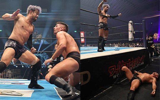 Kenta vs Zack Sabre