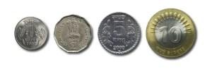 Rupia monedas