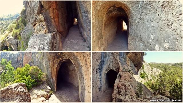 Collage ruta acueducto cuevas
