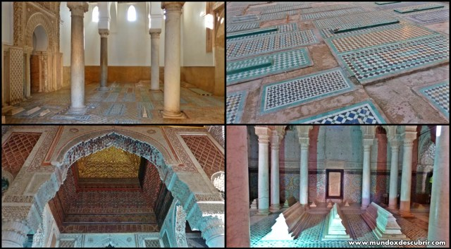 Tumbas Saadíes Marrakech - Marruecos