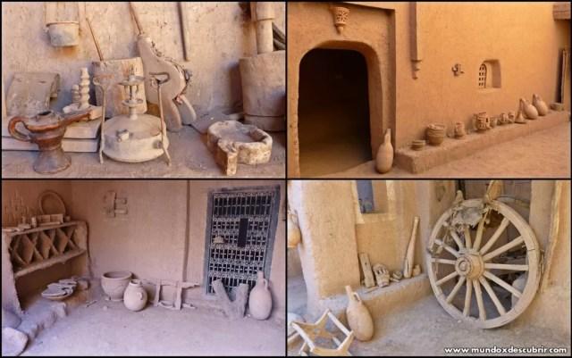 Habitaciones Kasbah de Amridil - Marruecos