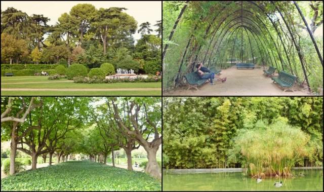 jardines pedralbes collage