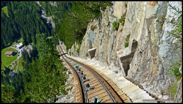 el funicular con mayor pendiente de europa