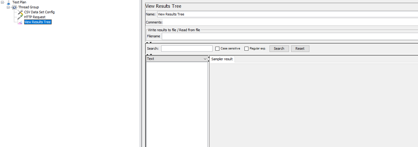 Read data from CSV file using CSV Data set config in Jmeter