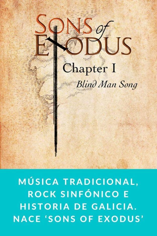 Música Tradicional, Rock Sinfónico e Historia de Galicia. Nace 'Sons Of Exodus'