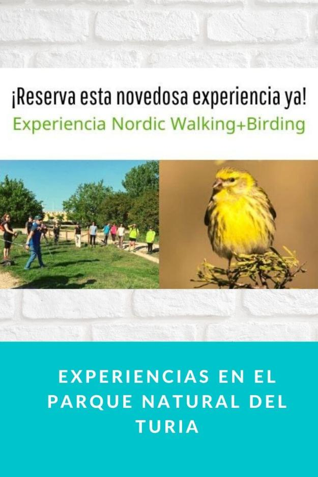 Experiencias en el Parque Natural del Turia