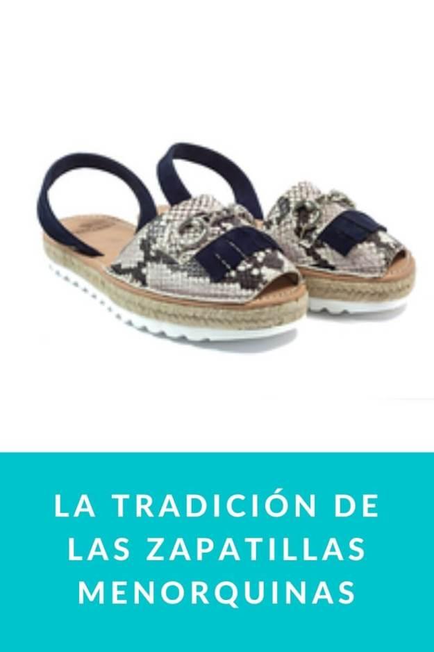 La tradición de las zapatillas menorquinas