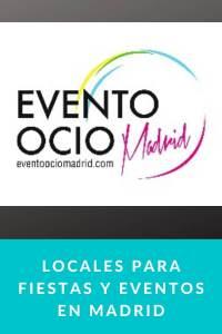 Locales para fiestas y eventos en madrid