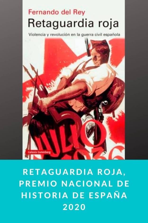 Retaguardia roja, Premio Nacional de Historia de España 2020