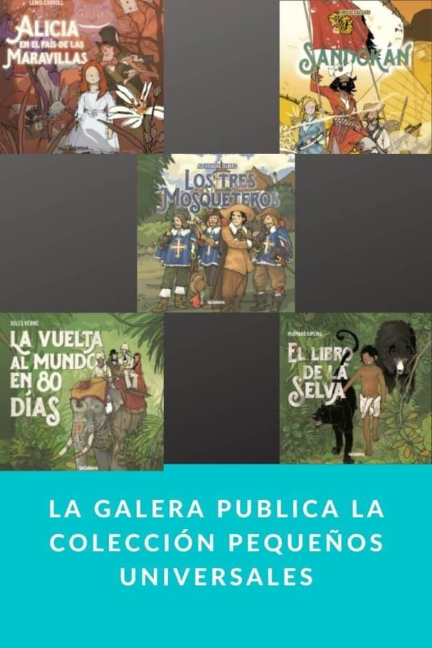 La Galera publica la colección Pequeños Universales