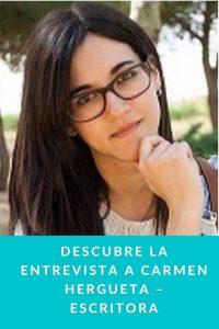 Descubre la entrevista a Carmen Hergueta – Escritora