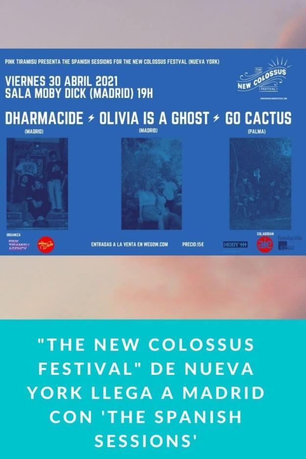 «The New Colossus Festival» de Nueva York llega a Madrid con 'The Spanish Sessions'