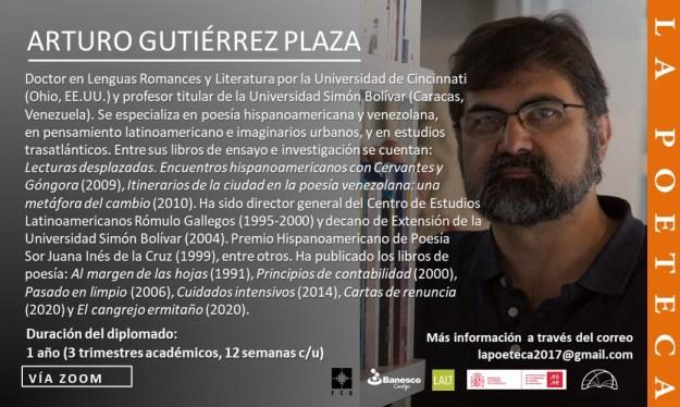 Arturo Gutiérrez Plaza