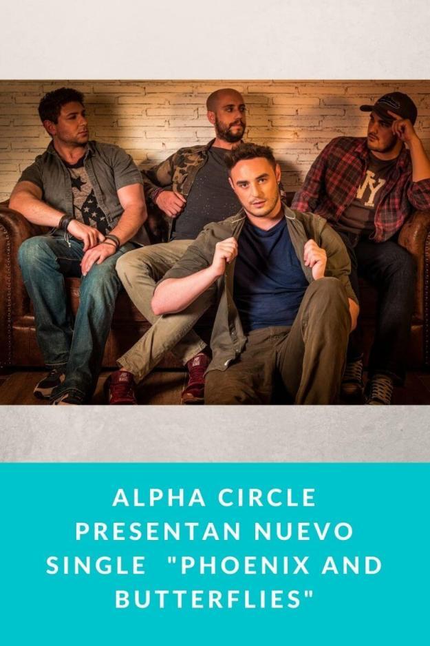 ALPHA CIRCLE presentan nuevo single  «Phoenix and Butterflies»