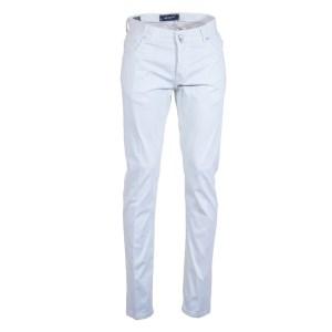Kiton Jeans Herren 5-Pocket Baumwoll/Seide Luxus Beige