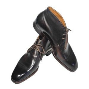 Saint Crispin´s Herren Cukka Boot Leder braun Luxus