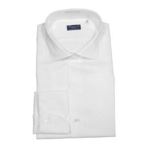 Finamore Hemd Herren Weiß Baumwolle Luxus