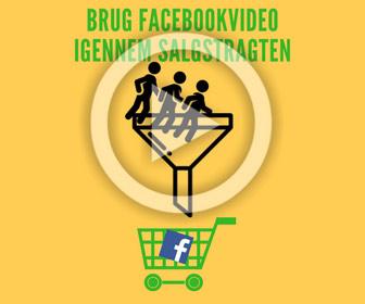Facebook annoncering video salgstragt