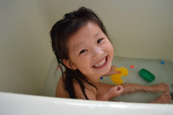 子どもとお風呂