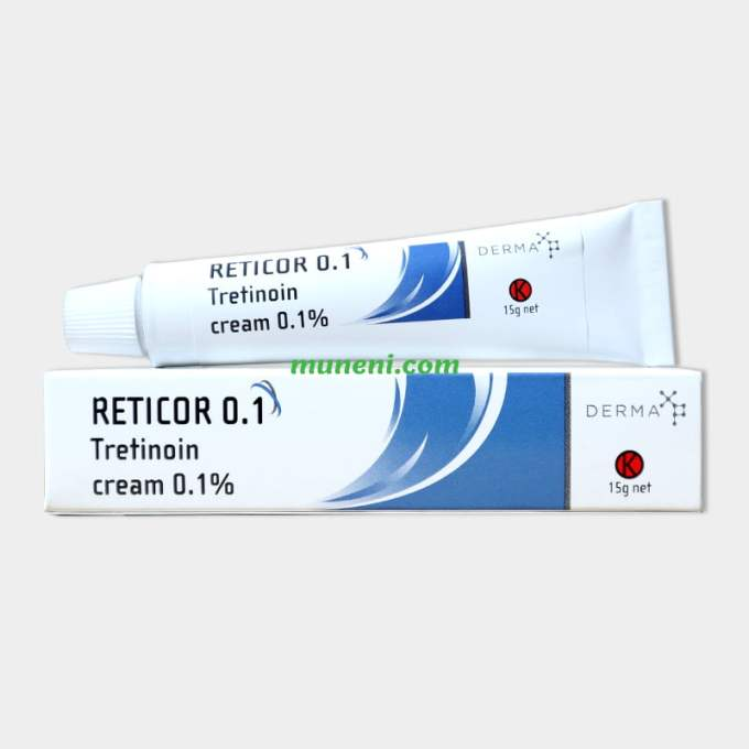 reticor 0.1 tretinoin cream