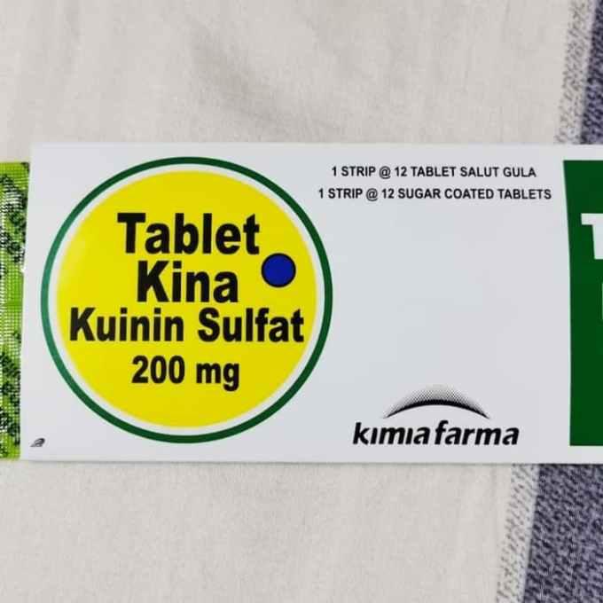 tablet kina kinina sulphate 2