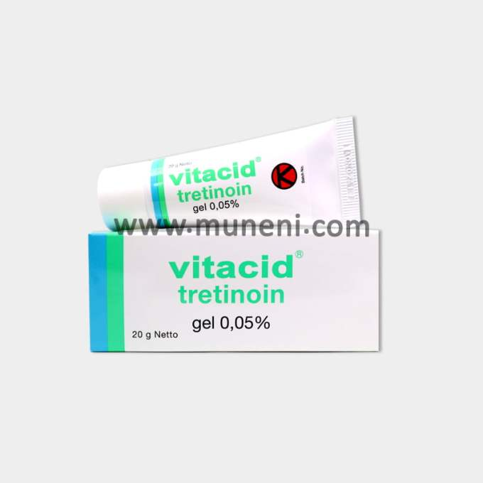 Vitacid Tretinoin 0.05% Gel by Muneni Store