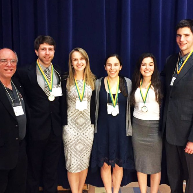 Biology Students Excel at State Meeting
