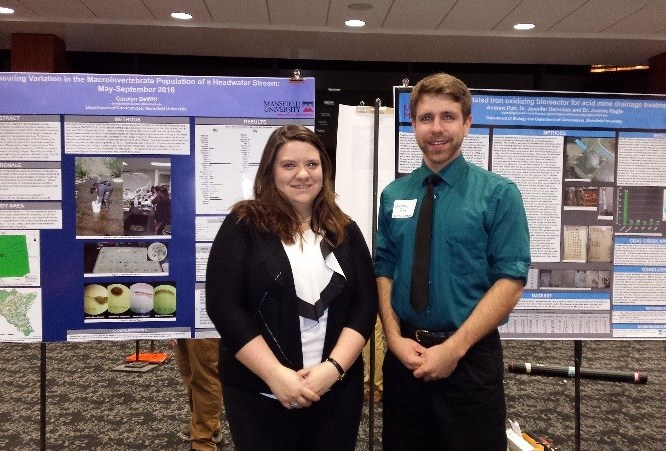 Geosciences Majors Present at Symposium—Andrew Putt Wins Award